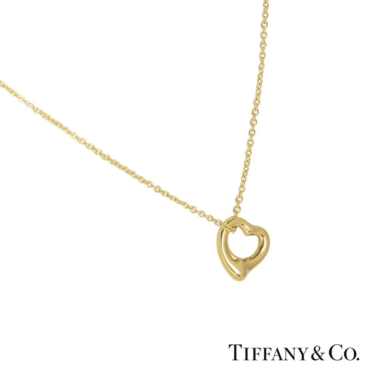Tiffany & Co. Yellow Gold Elsa Peretti Necklace